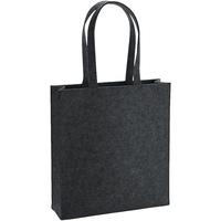 Tasker Skuldertasker Bagbase BG723 Charcoal Melange