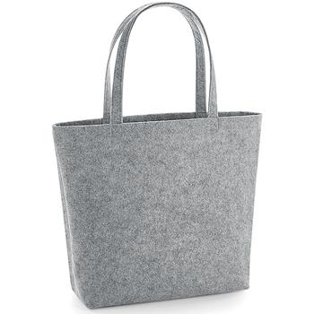 Tasker Skuldertasker Bagbase BG721 Grey Melange