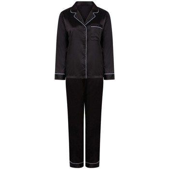 textil Dame Pyjamas / Natskjorte Towel City TC055 Black