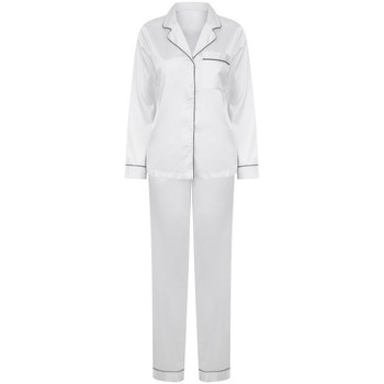 textil Dame Pyjamas / Natskjorte Towel City TC055 White
