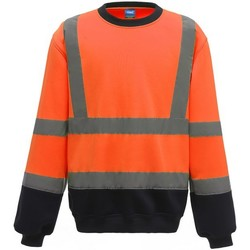 textil Herre Sweatshirts Yoko  Orange/Navy