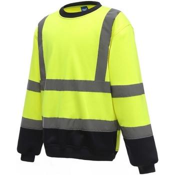 textil Herre Sweatshirts Yoko  Yellow/Navy