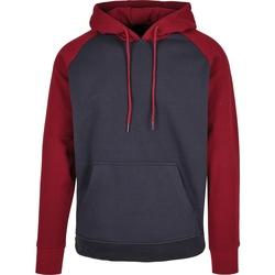 textil Herre Sweatshirts Build Your Brand BB005 Navy/Burgundy