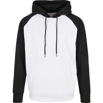 textil Herre Sweatshirts Build Your Brand BB005 White/Black