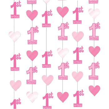 Indretning Klistermærker Amscan Taille unique Pink