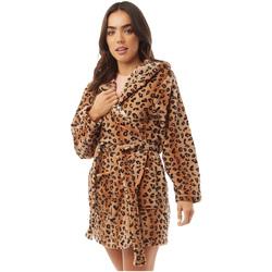 textil Dame Pyjamas / Natskjorte Brave Soul  Leopard Print