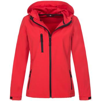 textil Dame Jakker Stedman  Crimson Red