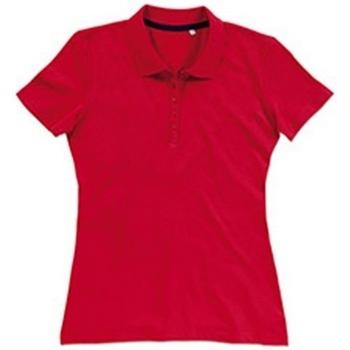 textil Dame T-shirts & poloer Stedman Stars  Crimson Red