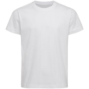textil Børn T-shirts & poloer Stedman Stars  White