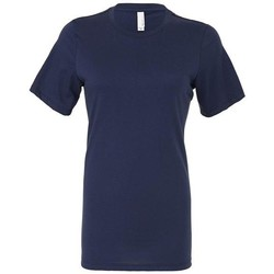textil Dame T-shirts & poloer Bella + Canvas BE6400 Navy