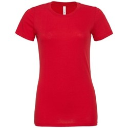 textil Dame T-shirts & poloer Bella + Canvas BE6400 Red