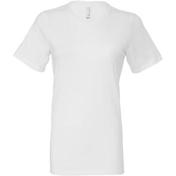 textil Dame T-shirts & poloer Bella + Canvas BE6400 White