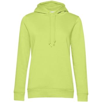 textil Dame Sweatshirts B&c WW34B Lime Green