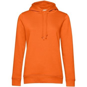 textil Dame Sweatshirts B&c WW34B Orange