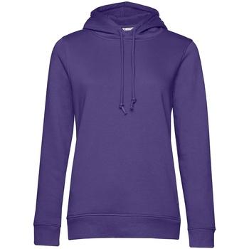 textil Dame Sweatshirts B&c WW34B Radiant Purple