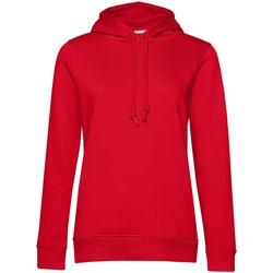 textil Dame Sweatshirts B&c WW34B Red
