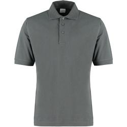textil Herre T-shirts & poloer Kustom Kit KK460 Dark Grey