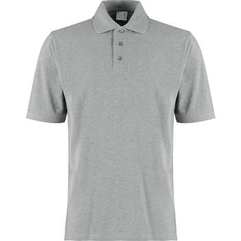 textil Herre T-shirts & poloer Kustom Kit KK460 Grey Heather