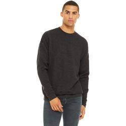 textil Herre Sweatshirts Bella + Canvas CA3945 Dark Grey Heather