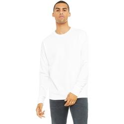 textil Sweatshirts Bella + Canvas CA3945 White