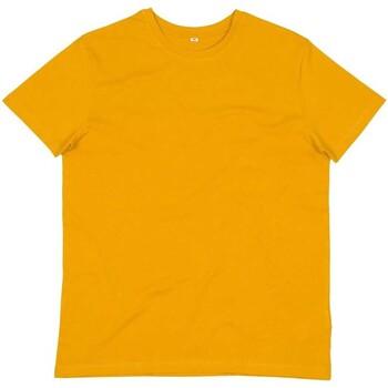 textil Herre T-shirts & poloer Mantis M01 Mustard Yellow