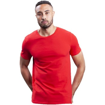 textil Herre T-shirts & poloer Mantis M01 Red