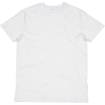 textil Herre T-shirts & poloer Mantis M01 White