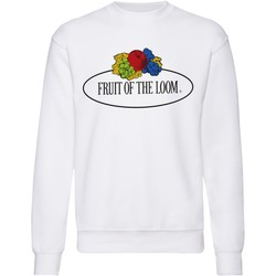 textil Sweatshirts Fruit Of The Loom 12202A White