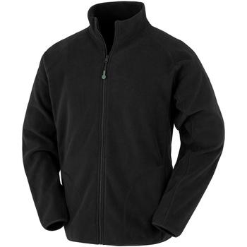 textil Herre Fleecetrøjer Result Genuine Recycled R907X Black