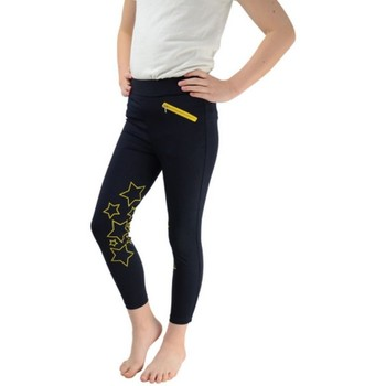 textil Pige Leggings Hyperformance  Navy/Yellow