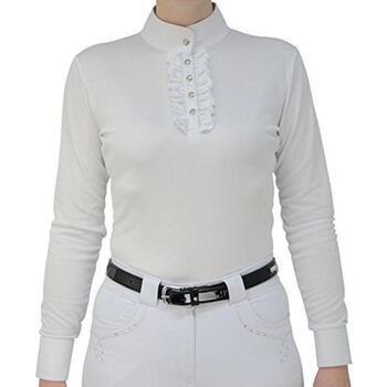 textil Dame Toppe / Bluser Hyfashion  White