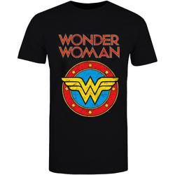 textil T-shirts & poloer Wonder Woman  Black