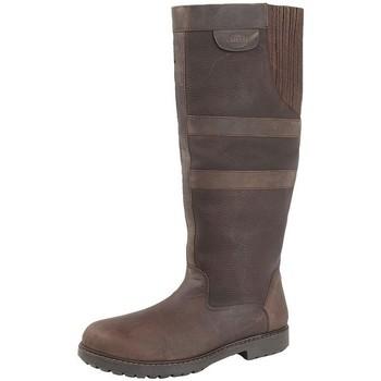 Sko Dame Støvler Woodland  Dark Brown