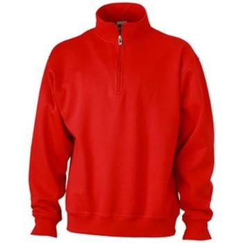 textil Herre Sweatshirts James And Nicholson  Red