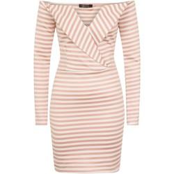 textil Dame Korte kjoler Girls On Film  Pink/White