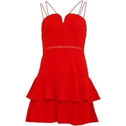 textil Dame Korte kjoler Girls On Film  Tomato Red