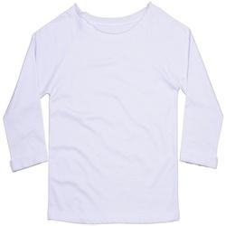 textil Dame Sweatshirts Mantis M128 White