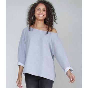 textil Dame Sweatshirts Mantis M128 Heather Marl