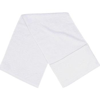 Indretning Håndklæde og badehandske Towel City PC3565 White