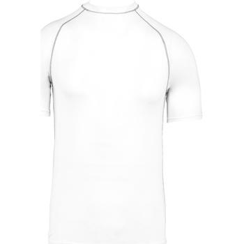 textil Børn T-shirts m. korte ærmer Proact PA4008 White