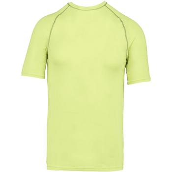 textil Børn T-shirts m. korte ærmer Proact PA4008 Fluorescent Yellow