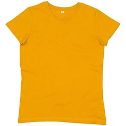 textil Dame T-shirts m. korte ærmer Mantis M02 Mustard