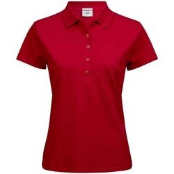 textil Dame Polo-t-shirts m. korte ærmer Tee Jays T145 Red