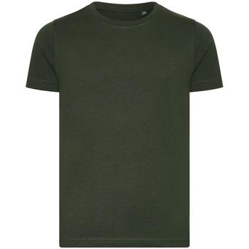 textil Børn T-shirts m. korte ærmer Ecologie EA001B Bottle Green