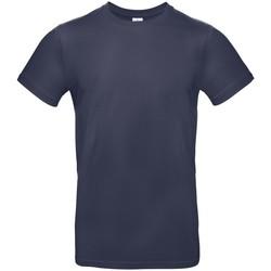 textil Herre T-shirts m. korte ærmer B And C BA220 Navy Blue