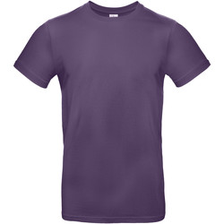 textil Herre T-shirts m. korte ærmer B And C BA220 Radiant Purple