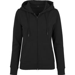 textil Dame Sweatshirts Build Your Brand BY069 Black