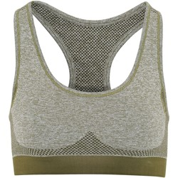textil Dame Sports-BH Tridri TR210 Olive Green