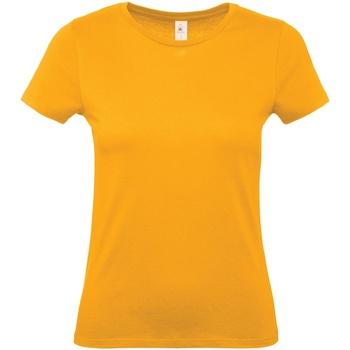textil Dame T-shirts m. korte ærmer B And C B210F Apricot
