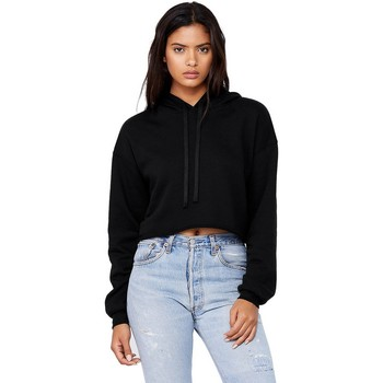 textil Dame Sweatshirts Bella + Canvas BE7502 Black
